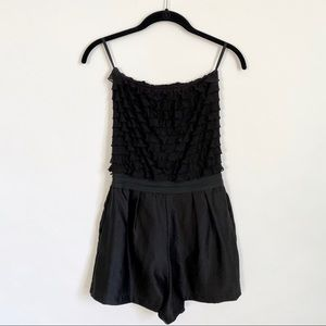 Urban Outfitters Dressy Black Romper